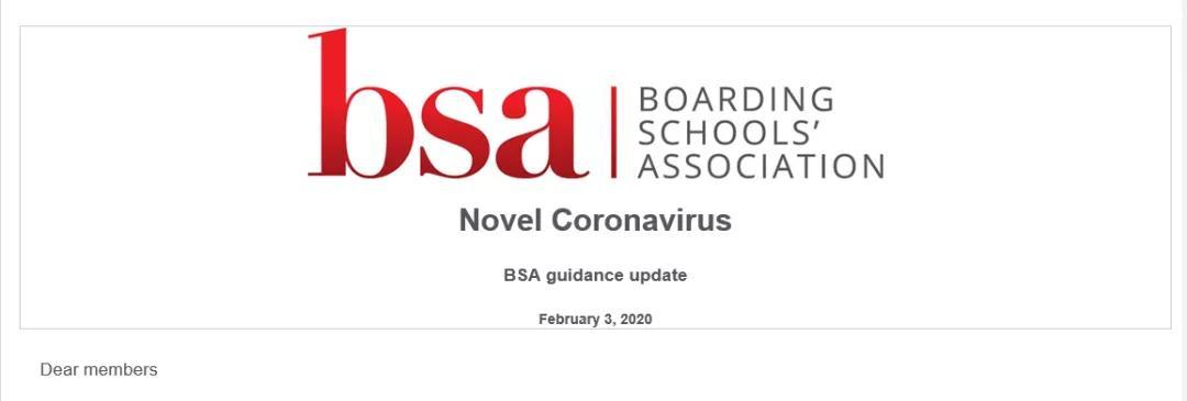 英国寄宿学校协会2月3日晚发布第二个官方声明